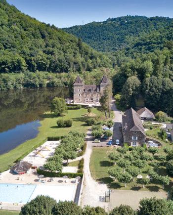 camping Tohapi Château du Gibanel Limousin Argentat Correze