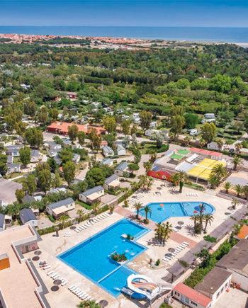 camping Tohapi L'Oasis et California Languedoc-Roussillon Le Barcarès Pyrenees-Orientales