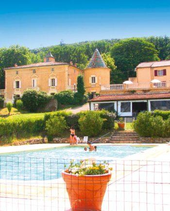 Camping Tohapi Château de l'Eouvière Provence-Alpes-Côte d'Azur