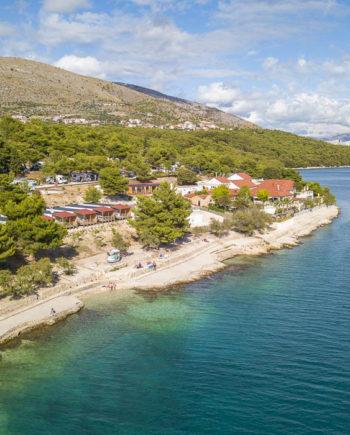 Camping Tohapi Vranjica Belvedere Dalmatie