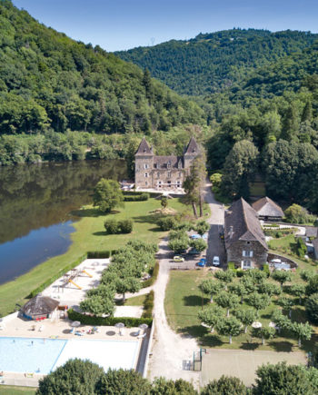 Camping Tohapi Château du Gibanel Limousin